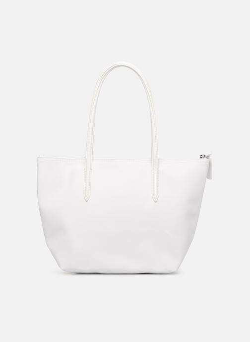 Sacs à main Lacoste S SHOPPING BAG Blanc vue face